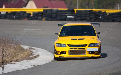 Foto op Canvas Snelle auto s Racecar
