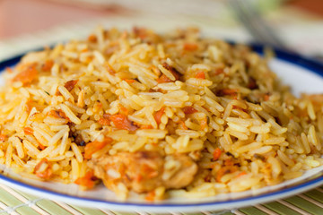 Plate of Pilaf