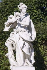 Vienna - muse statue from Belvedere palace