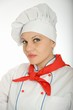 Portrait of a female chef