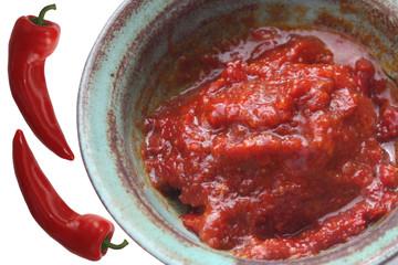 Harissa - Piment Fort - ingrédient culinaire