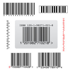few types of random barcodes