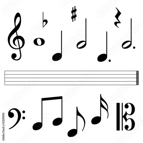 music notation elements