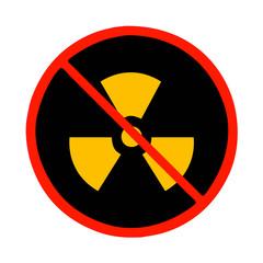 prohibido energia nuclear