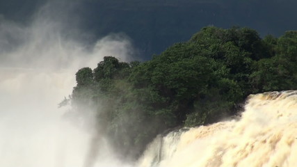 Waterfall in Canima NP