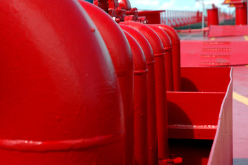 red iron pipe