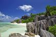 Fototapeten,indischer ozean,seychellen,granite,rock