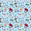 seamless doctor pattern