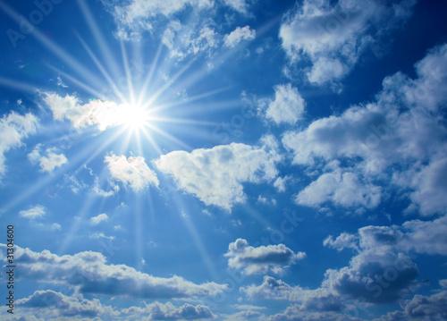Leinwandbild Motiv Sonnenschein