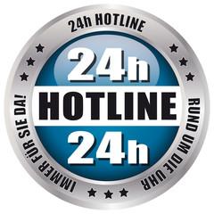 24h Hotline - Rund um die Uhr immer für Sie da!