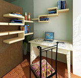 Interior fashionable room rendering