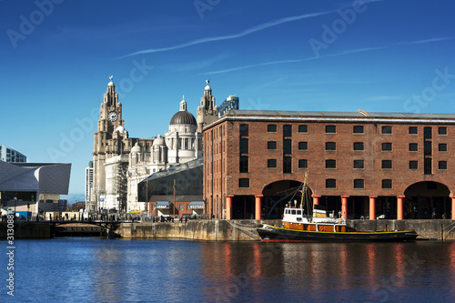 Albert Dock, Liverpool, UK