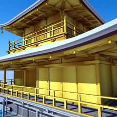 Buddhist temple Kinkakuji