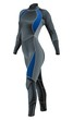 Diving Suit for Female vector