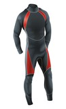 Diving Suit for Male vector poster