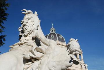 Statue in Maria Theresien Platz, Vienna