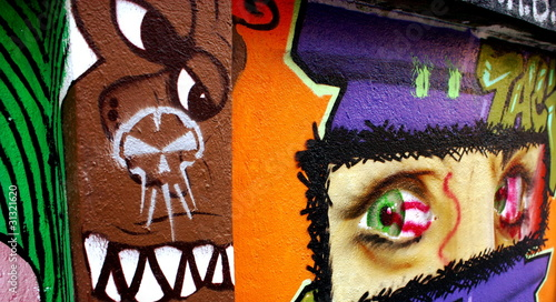 Graffiti eyes