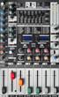 Texture of a sound mixer