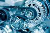 Fototapety Car engine