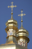 Golden cupola with crosses