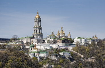 View of Kiev-Pechersk Lavra Monastery