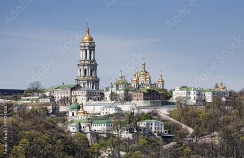 View of Kiev-Pechersk Lavra Monastery