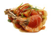 prawn with tomato onion sauce