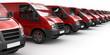 Rote Transporter-Reihe (Fokus)