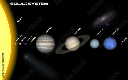 Fototapete Olympic national park - Planets - 3D-Bilder