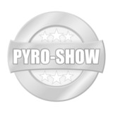 button light pyro-show I poster
