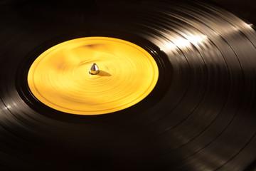 Vinyl Record Playing