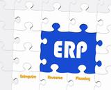 ERP - Enterprise Resource Planning - Concept poster