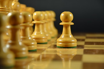 Primer movimiento en ajedrez