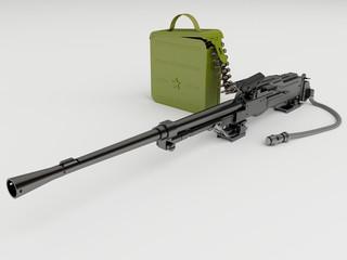 Модернизированный танковый пулемёт Калашникова