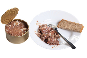 stewed meat and bread