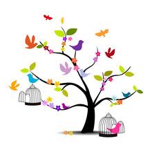 Dekoracyjne drzewo
