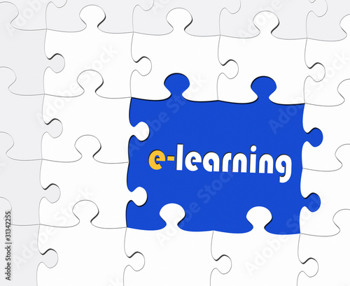 e-learning - Business and Education Concept