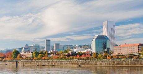 Portland Oregon downtown  waterfront