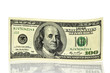 one hundred dollars note