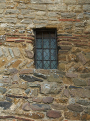 Old Saxon Tower Window