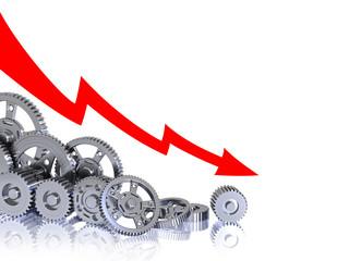 Industrial decrease