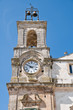 Clocktower. Martina Franca. Apulia.