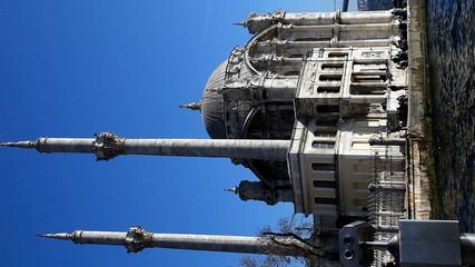 Vertical Big Mecidiye Mosque