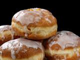 Fototapete Doughnuts - Gebackenes - Kekse / Feines Gebäck