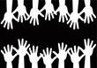 mani nere bianche