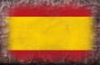 bandiera spagnola vintage