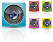color camera lens
