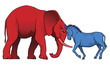 American political parties stand-off