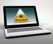 "Mobile Thin Client / Netbook ""Virus Alarm"""