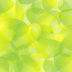 Abstract background in tints of green